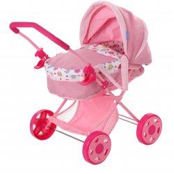 Lėlių vežimėlis Spring Doll Diana Pram D86514