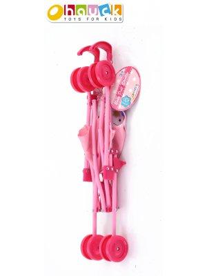 Lėlių vežimėlis Spring Doll Umbrella Stroller D81014