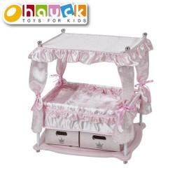 Hauck lova lėlei Princess rožinė D90416