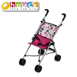 Hauck vežimėlis lėlei Uno Mini rožinis D81009