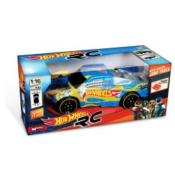 Hot WHEELS automodelis su rampa RC 1:16