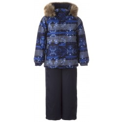 Komplektas Winter Blue Pattern Navy 41480030-02335-116