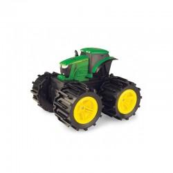 John DEERE traktorius su mini-mega ratais