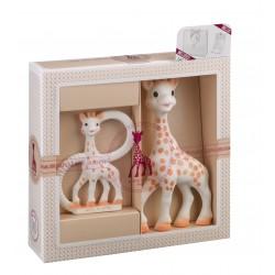 Rinkinys Sophie la Girafe + kramtukas su žiedais