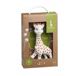 Žirafa Sophie dovanų pakuotėje