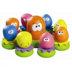 Vonios žaislas Aštuonkojų šeimynėlė