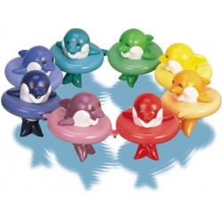 Vonios žaislas Delfinai