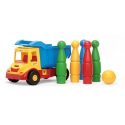 Sunkvežimis su kėgliais 40x26x20cm