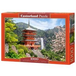 Dėlionė Seigantoji šventykla Japonija 1000d. C-103201-2