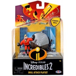 Incredibles figūrėlė Action Pack Mr. Incredible wAccy