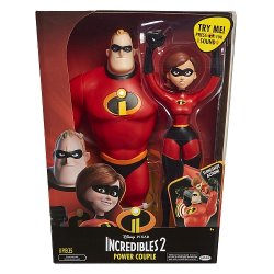 Incredibles figūrėlių rinkinys Mrs. & Mr. Incredible