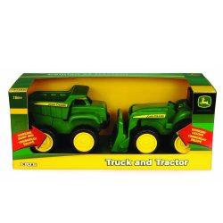 John DEERE savivarčio ir traktoriaus rinkinys Mini Sandbox