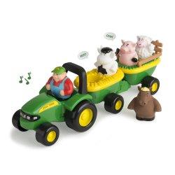 John DEERE traktorius su gyvūnais Animal Sounds Hayride