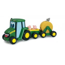 John DEERE traktorius su gyvūnais Country Fair Wagon Ride 35089N6