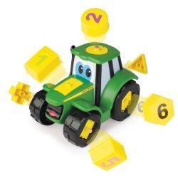 John DEERE traktorius su kaladėlėmis Johnny