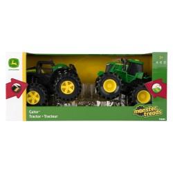 John DEERE žaislinių traktorių rinkinys 2vnt .