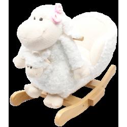 Jolly RIDE supuoklės-avytė su mažyliu baltos JR2579B