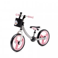 Kinderkraft balansinis dviratis 2WAY rožinis 12'' KKR2WNXLTPK0AC