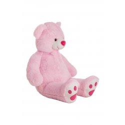 Rožinis meškinas 100cm.