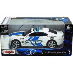 Maisto DIE CAST automodelis Chevrolet Camaro SS RS Police 1:24