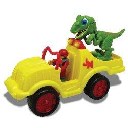 Megasaur JUNIOR dinozauro figūrėlės rinkinys su sukvežimiu