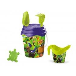 Turtles kibirėlis su kasimo įrankiais