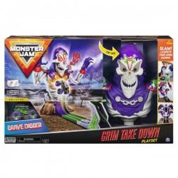 Monster JAM trasos rinkinys Grim Takedown