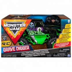 Monster JAM visureigis RC 1:15 Grave Digger