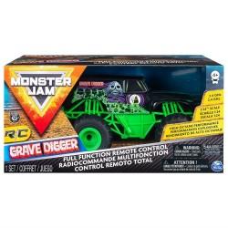 Monster JAM visureigis RC 1:24 Grave Digger