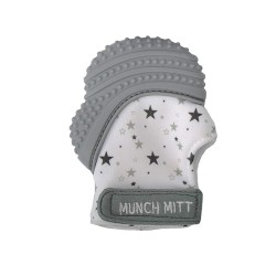Munch BABY kramtukas Mint Grey Stars MM08GS
