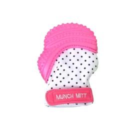 Munch BABY kramtukas Pink Polka Dots MM05P