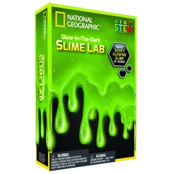 National GEOGRAPHIC rinkinys Slime Science Kit Green NGSLIME
