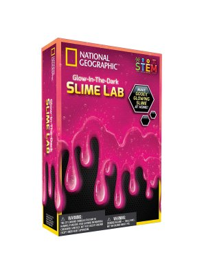 National GEOGRAPHIC rinkinys Slime Science Kit Pink NGSLIMEPK