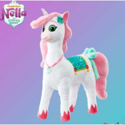 Nella THE PRINCESS pliušas Cuddle Plush Trinket