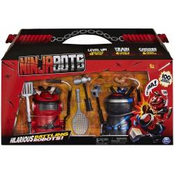 Ninja BOTS kovojantys robotukai 2vnt .