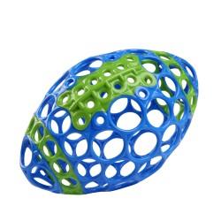Futbolo kamuolys mėlynasžalias