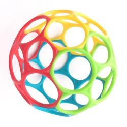 Klasikinis kamuolys raudonasgeltonasžaliasmėlynas