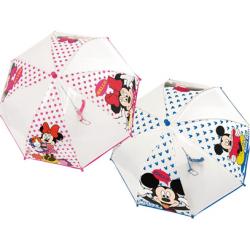 Skėtis vaikams Mickey & Minnie asort
