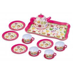Playgo arbatos rinkinys keturiems Macaroon