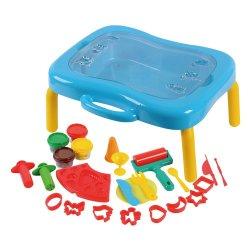 Playgo DOUGH plastelino rinkinys su staliuku