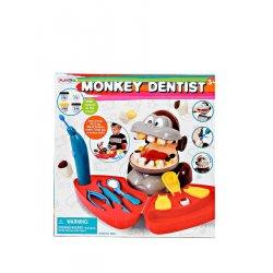 Playgo DOUGH rinkinys Bezdžionė dantistas