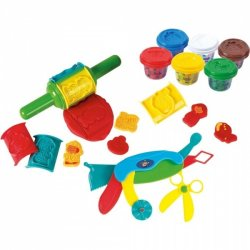 Playgo DOUGH rinkinys ROLL & SHAPE SUPER TOOLS