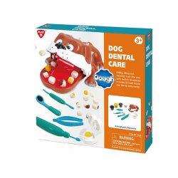 Playgo DOUGH rinkinys Šunelis dantistas