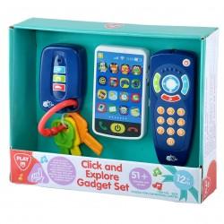 Playgo INFANT&TODDLER Daugiafunkcinis žaislas Paspausk ir ieškok