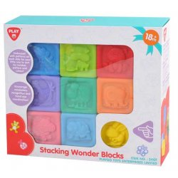 Playgo INFANT&TODDLER kaladėlės Wonder blocks