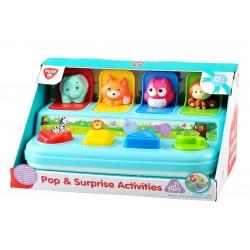 Playgo INFANT&TODDLER Lavinamasis žaislas Pasislėpę gyvūnėliai