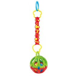 Playgo INFANT&TODDLER pakabinamas kamuoliukas-barškutis