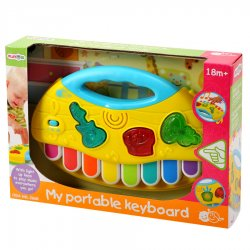 Playgo INFANT&TODDLER pianinas žaislinis nešiojamas 18m+