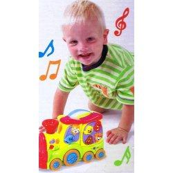 Playgo INFANT&TODDLER traukinukas linksmų garsų