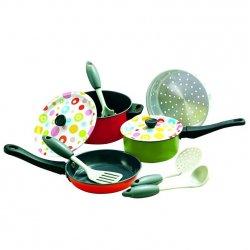 Playgo rinkinys virtuvės puodų (spalvotas)
